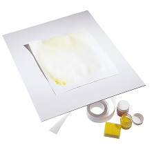 Plastic painting boards