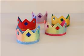 Sarah's Silks Reversible Crown