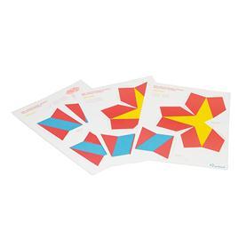 Kuboid cube handicraft folder