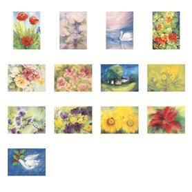 Postkarten M. van Zeyl sort.